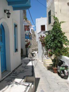 Греция / Нисирос / улица 18