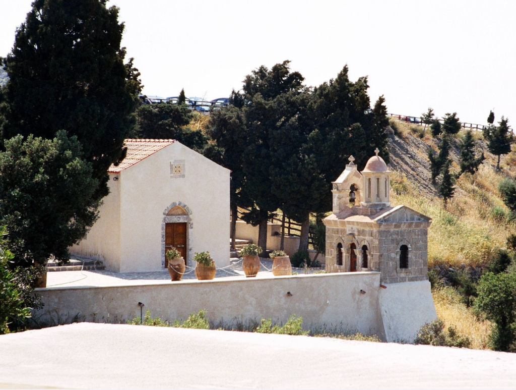 Путешествия / Греция / Крит / Монастырь Превели