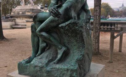 """Париж. Музей Оранжери. О. Роден """"Поцелуй"""""""