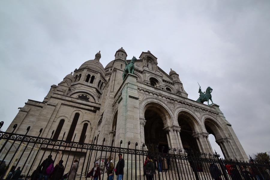 Париж. Прогулка по Монмартру 19
