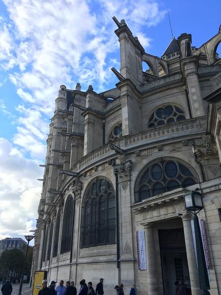Париж. Церковь Сент-Эсташ 1
