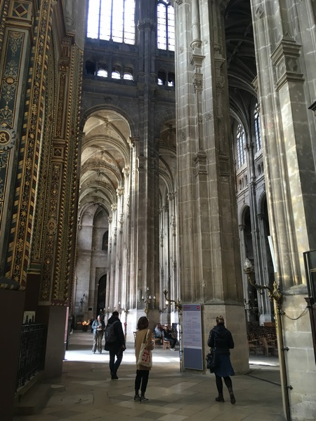 Париж. Церковь Сент-Эсташ 4