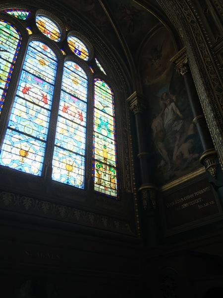 Париж. Церковь Сент-Эсташ 7