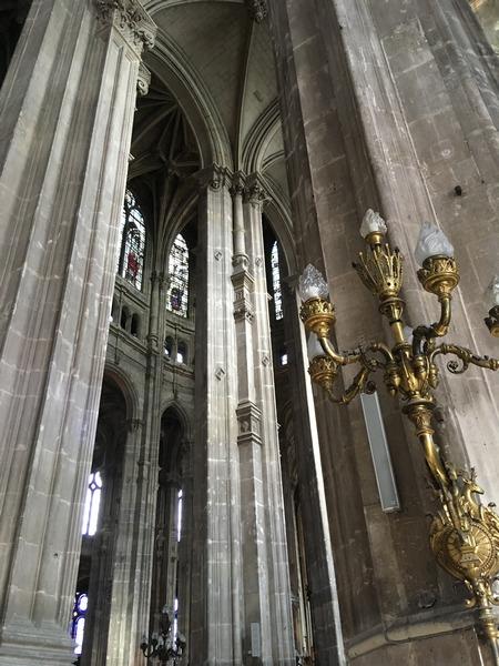 Париж. Церковь Сент-Эсташ 10