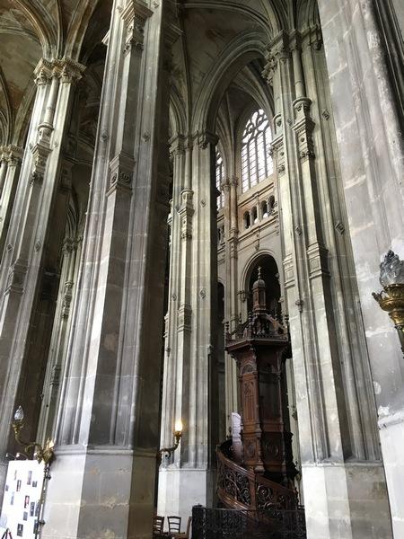 Париж. Церковь Сент-Эсташ 12