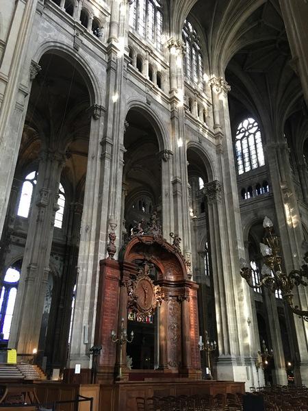Париж. Церковь Сент-Эсташ 14