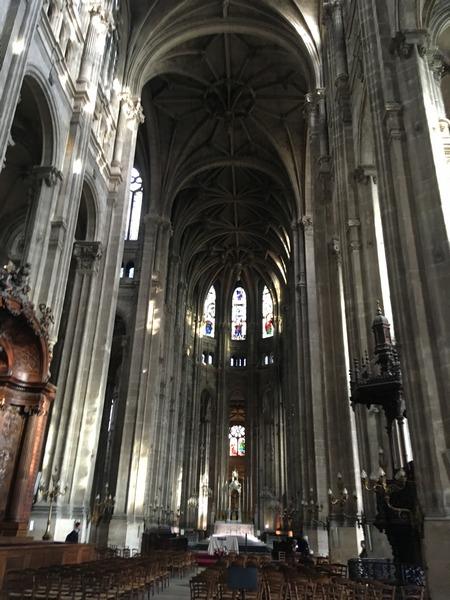 Париж. Церковь Сент-Эсташ 15