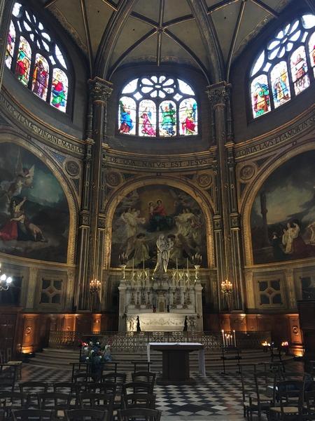 Париж. Церковь Сент-Эсташ 18