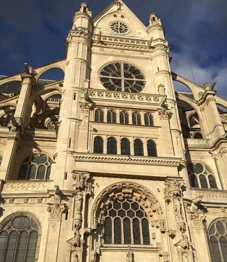 Париж. Церковь Сент-Эсташ