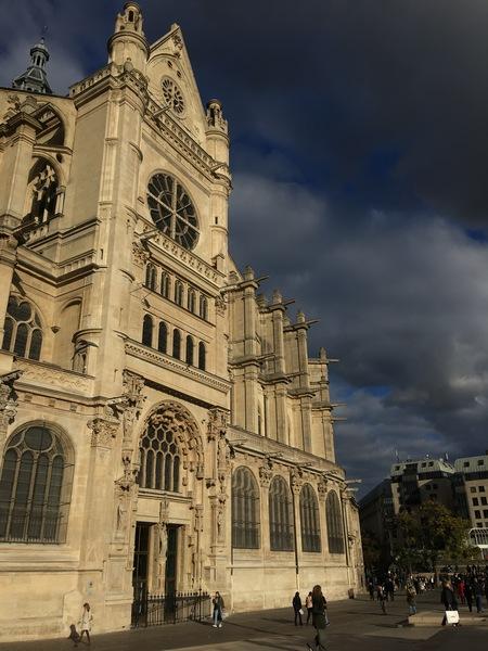 Париж. Церковь Сент-Эсташ 9