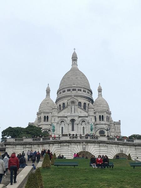 Париж. Прогулка по Монмартру 16
