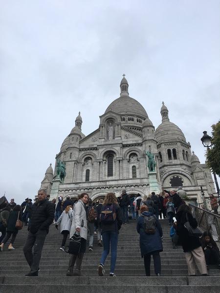 Париж. Прогулка по Монмартру 17