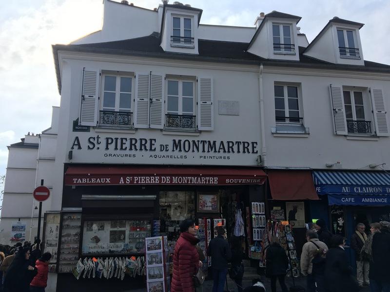 Париж. Прогулка по Монмартру 28