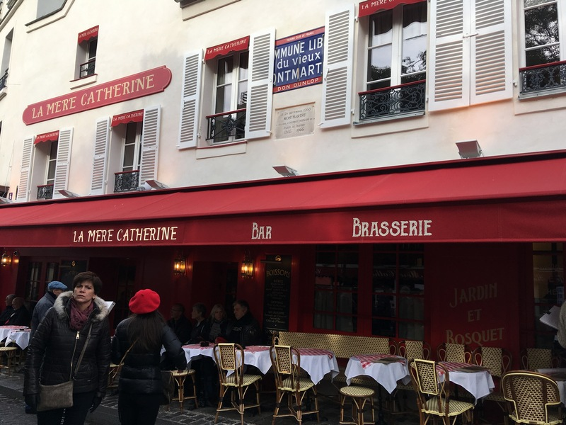 Париж. Прогулка по Монмартру 32