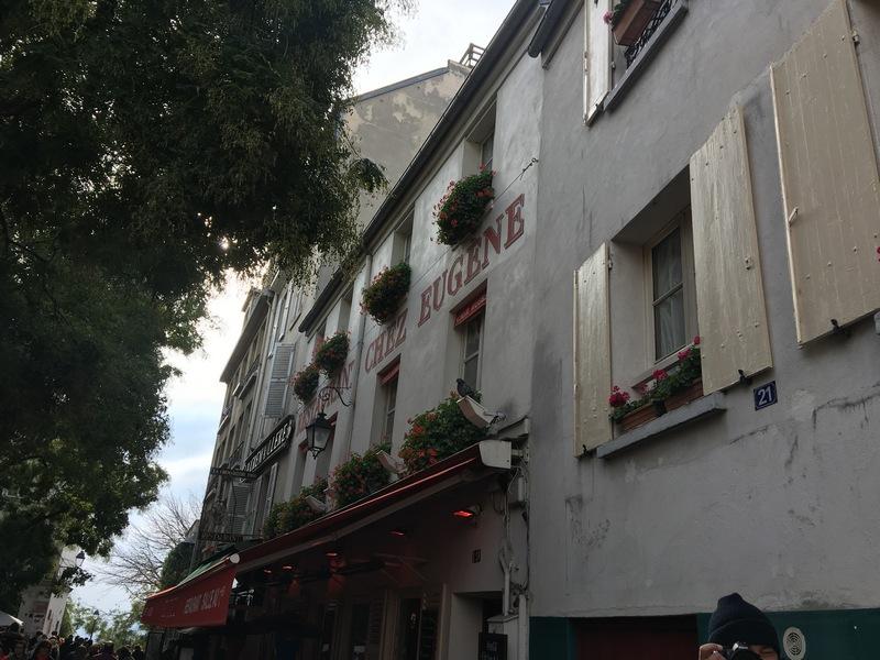 Париж. Прогулка по Монмартру 33