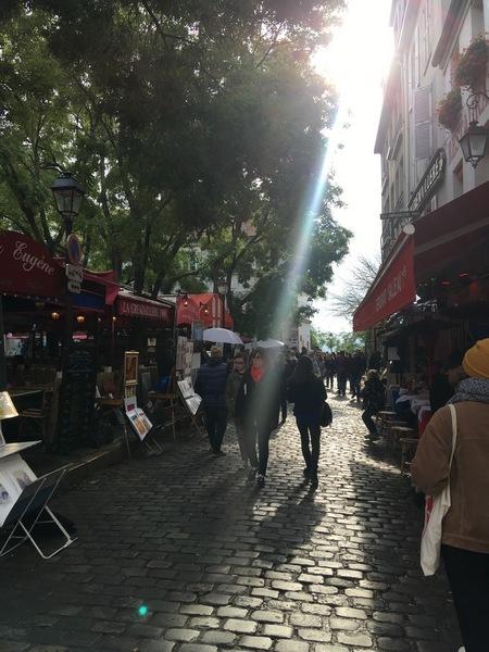 Париж. Прогулка по Монмартру 35