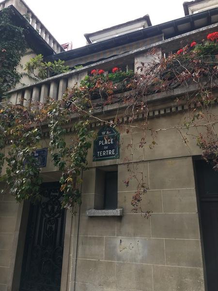 Париж. Прогулка по Монмартру 36