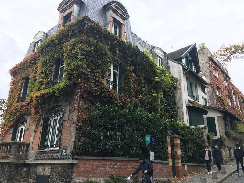 Париж. Прогулка по Монмартру 54
