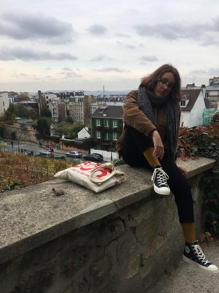 Париж. Прогулка по Монмартру 63