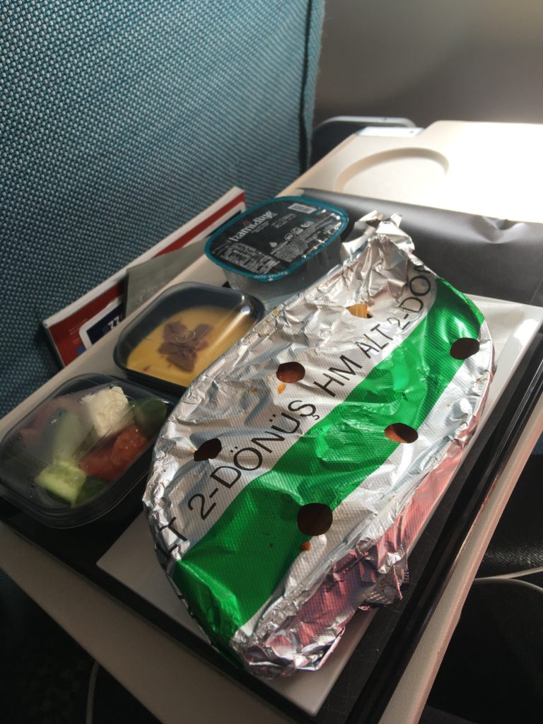 Чем кормят и как развлекают на «Турецких авиалиниях» 7