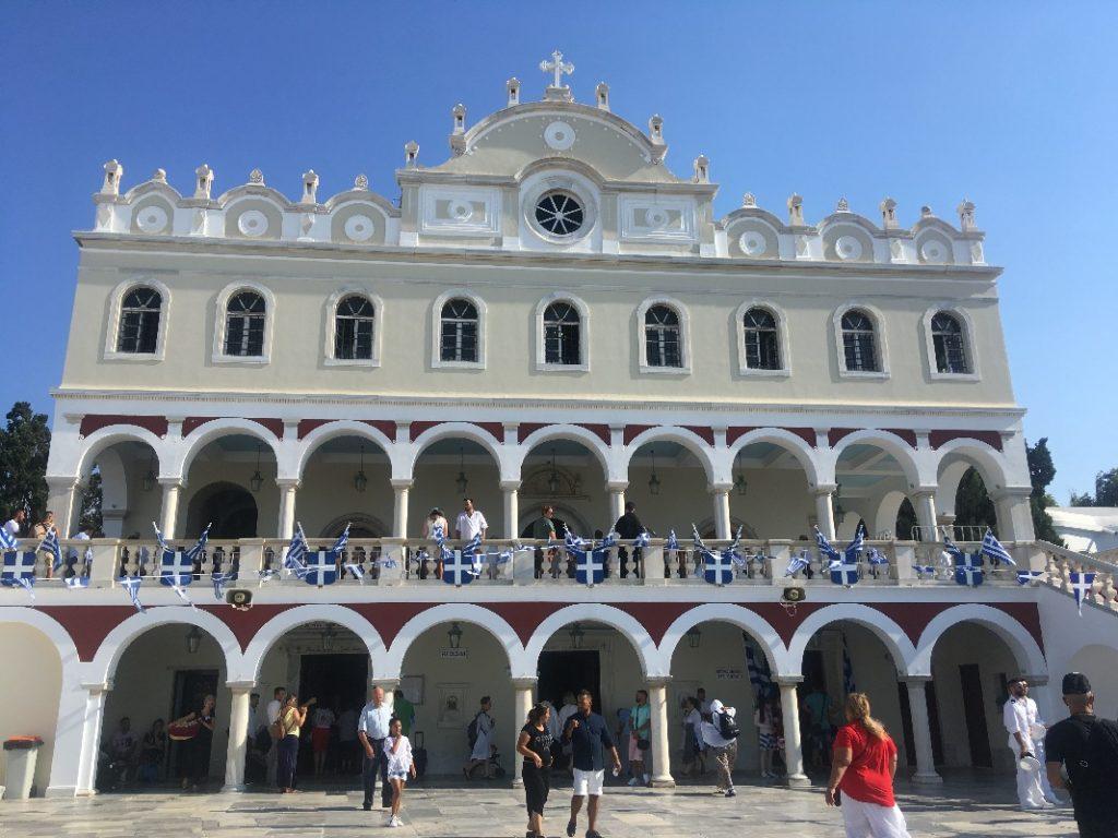 Два дня на острове Тинос. Празднование Успения Пресвятой Богородицы. 17