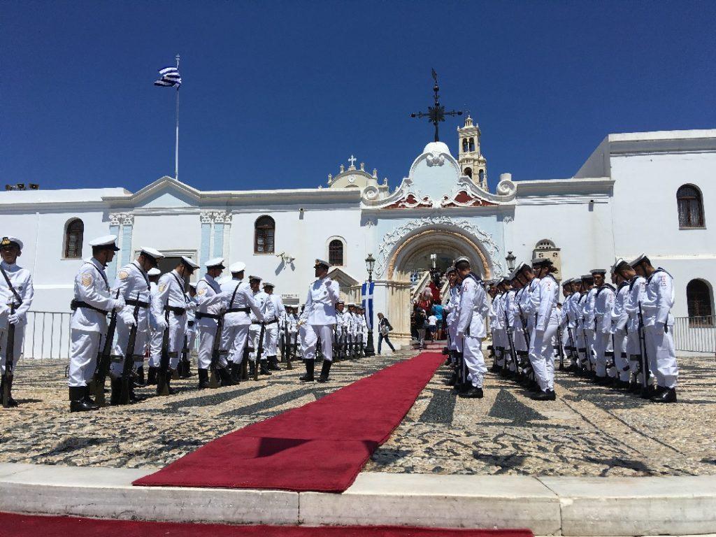 Два дня на острове Тинос. Празднование Успения Пресвятой Богородицы. 23