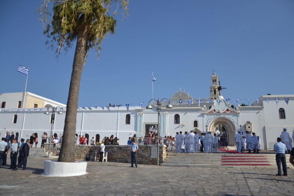 Два дня на острове Тинос. Празднование Успения Пресвятой Богородицы. 2