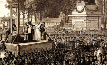 Площадь Согласия. Казнь Марии Антуанетты