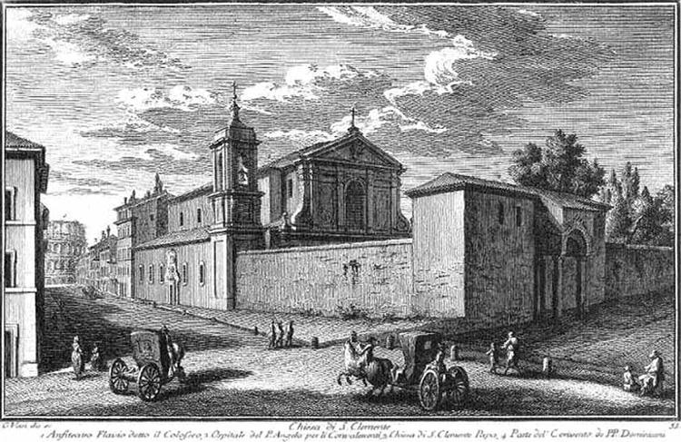 Самая необычная церковь Рима. Базилика Святого Климента 1