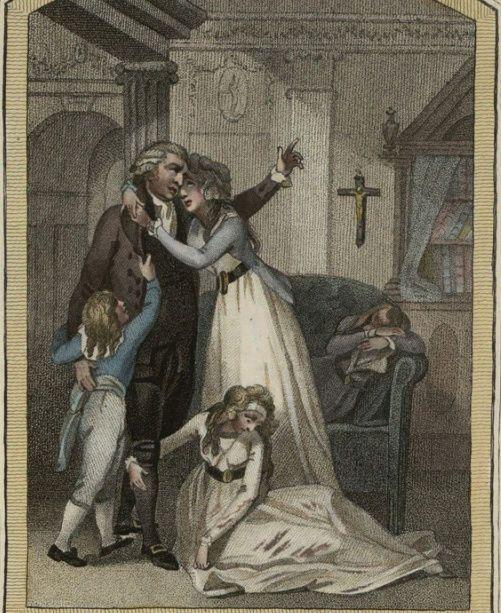 Мария-Антуанетта. Прощание в Тампле