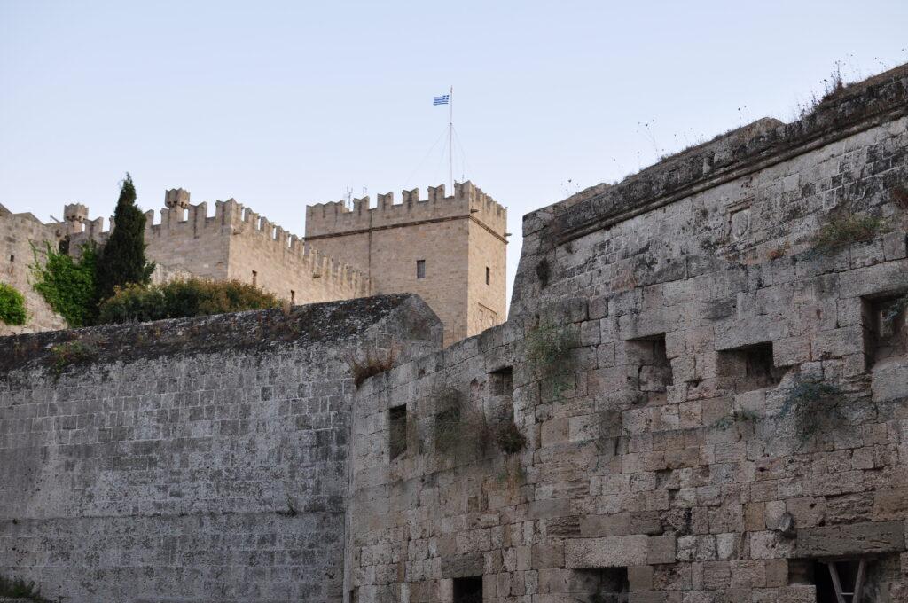 Родос. Старый город. Крепостные стены