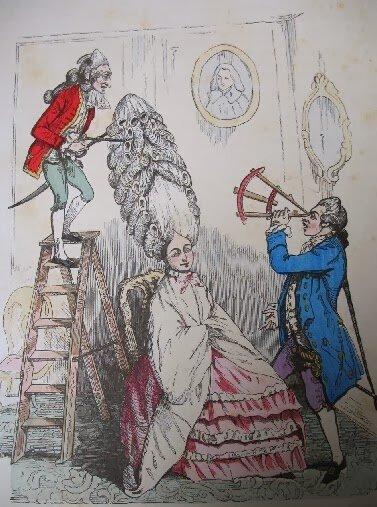 Мария-Антуанетта. Карикатура