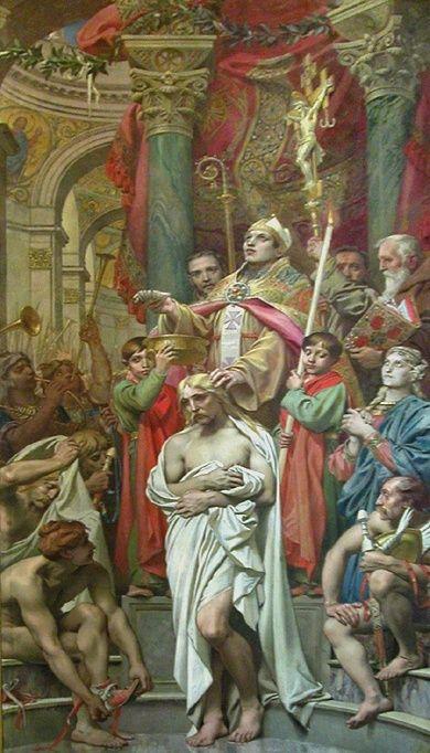 Крещение Хлодвига I в Реймсе